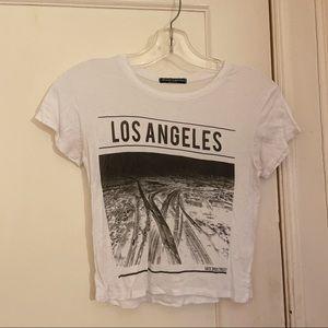 Brandy Melville Los Angeles Crop Top